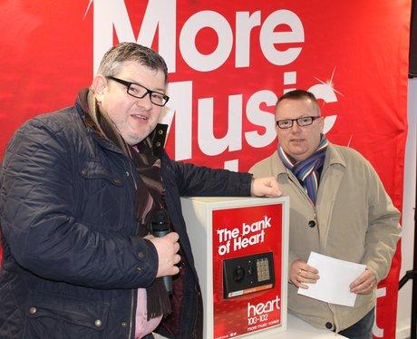 Heart Angels: Crack The Safe At Yorkshire Bank