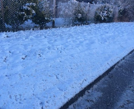 Snow in Gloucestershire 2015