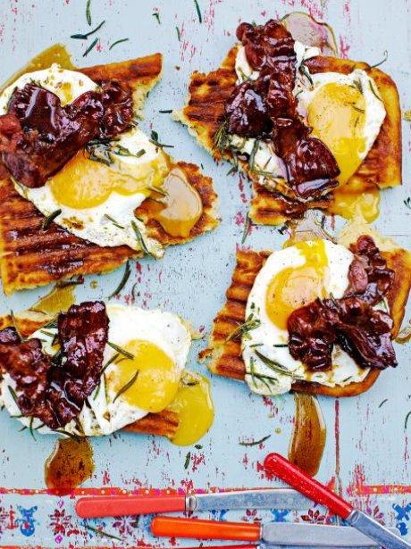 Jamie Oliver's Griddle Pan Waffles
