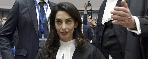 Amal Clooney in Court