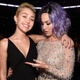 Miley Cyrus and Katy Perry