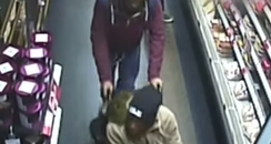 Coventry shoplifters wheelchair