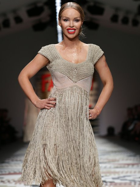Katie Piper Fashion For Relief 2015