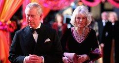 Charles And Camilla At Premiere