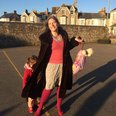 Pippa from Penzance dressed by her kids