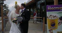 Wedding Couple McDonalds