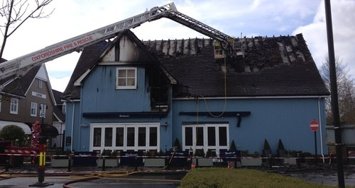 Bicester Village fire Carluccio's damage