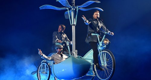 Take That in concert