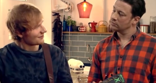 Jamie Oliver Ed Sheeran Food Revolution