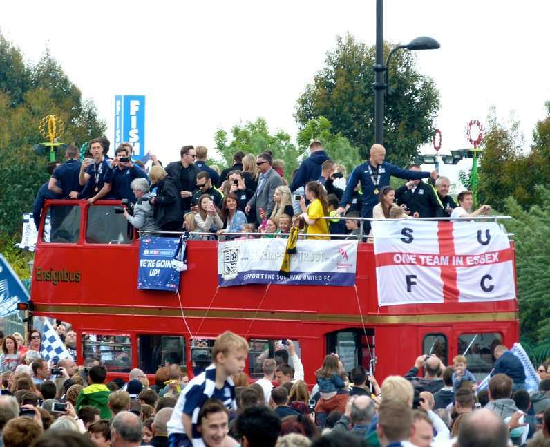 Southend United Victory Parade (25 May)