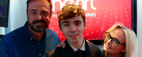 Jamie & Emma with Nathan Sykes