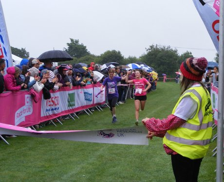 Truro Race For Life 2015 Finish