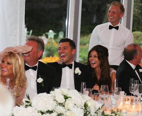 Mark wright wedding