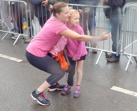Heart Angels: Race for Life - Cheer/Finish