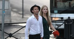 Jude Law with new girlfriend