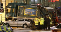 George Square bin lorry crash
