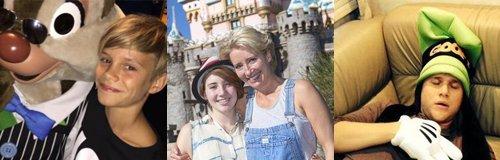 Celebrities At Disneyland canvas