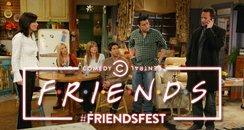 Friends Fest Comedy Central logo