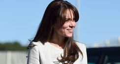 Duchess of Cambridge Visits A Prison In Surrey