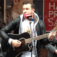 Dave Taylor Busking in Ipswich