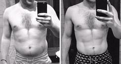 Olly Murs Torso  Tranformation Instagram