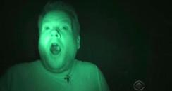 James Corden Halloween Ghost Hunting
