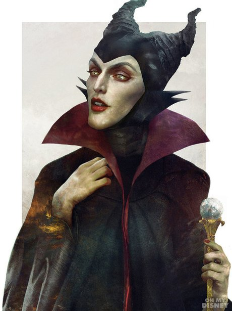 Disney Villains as real people