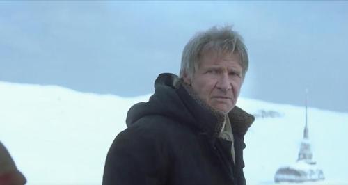 Hans Solo Star Wars Episode VII trailer