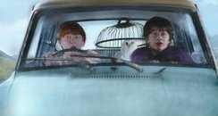 harry potter ron weasley chamber of secrets car