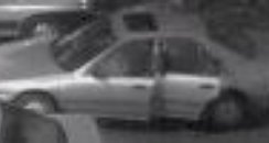 Police CCTV of car linked to attack in Bradford