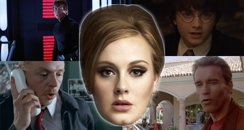 Adele Canvas Mash Up