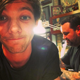 Louis Tomlinson tattoo Instagram