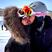 6. Niina Dobrev and Austin Stowell kissing