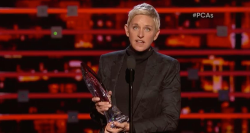 Ellen Degeneres People's Choice Awards