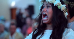 Wedding Haka dance