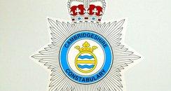 Cambridgeshire Police White Logo
