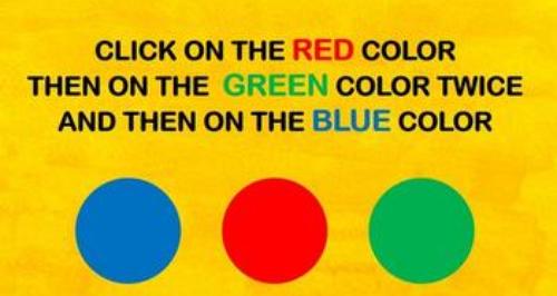 colour test picture