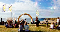 Boardmasters music and surf festival Cornwall