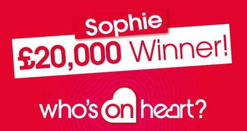 2nd winner Who's on Heart large article