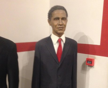 Barack Obama bad waxwork