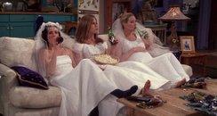 Friends TV show filmstill - Rachel, Monica and Pho