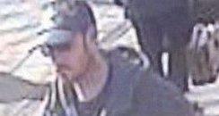 Portsmouth hammer attack CCTV suspect