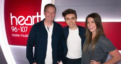 Nathan Sykes with James & Becky