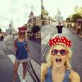 Pixie Lott at Disneyland
