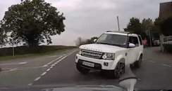 Range Rover Crash CCTV Screengrab