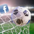 football and facebook