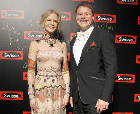 Nichole Kidman and Radek Sali at Swisse Promotiona
