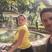 Image 3: Kelly Brook And Boyfriend Jeremy Parisi bike ride