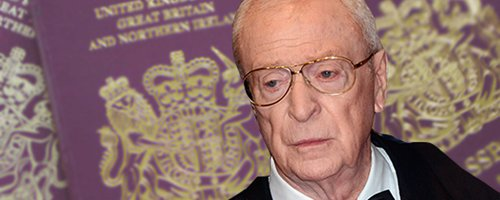 michael caine name change canvas