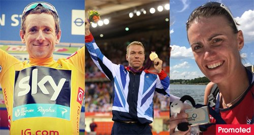 Olympic stars to watch Chris Hoy Bradley Wiggins